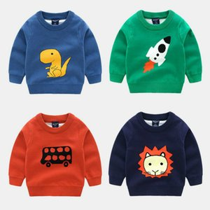New Spring Autumn Baby Girls Sweatshirts Children Hoodies Cartoon Animal Long Sleeve Cotton Sweater Kids T-shirt Clothes