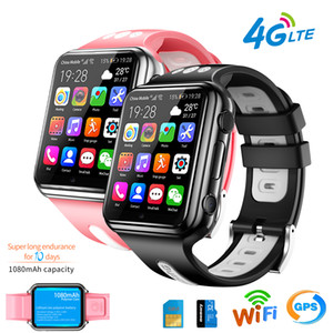 W5 4G GPS Wifi emplacement étudiant / Smart Kids Watch Phone Android app horloge système Bluetooth installer Smartwatch 4G carte SIM