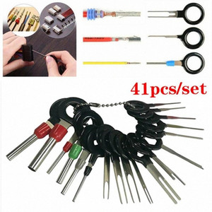 41Pcs 2020 New Car Terminal Removal Tool Electrical Wiring Crimp Connector Pin Extractor Kit Auto Terminal Repair Tools ZXMn#