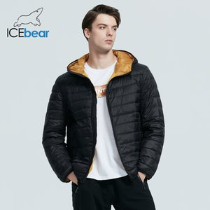 ICEbear New lightweight men's down coat stylish casual men jacket male hooded apparel brand men clothing MWY19998D 201014