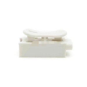 Conectores de fios de mola de travamento automotivo Cabo elétrico Bloqueio de cabos bloco branco Quick Bloqueio de bloqueio de arame terminal conectores