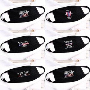 5 Stiller Donald Trump Yüz Ağız Komik Karşıtı Toz Pamuk ABD Kadın Erkek Unisex Moda Kış Siyah Yıkanabilir Maske Isınma Maskesi