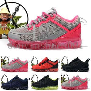 2020 baby kid KPU Knitting Portable Kids Running Shoes 2018 Children cushion Sports Shoes Boys Girls Training Sneakers 28-35 DC6EB