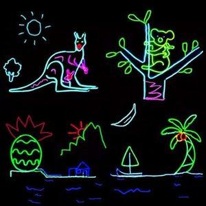 1m 2m 5m 10m Flexible luz de neón del resplandor del EL de alambre tubo de la cuerda tira llevada a prueba de agua Luces de neón por mj_bag Dancing Shoes Ropa de coches Swy bbyqcs