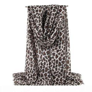 New high-end fashion thin scarf ladies leopard print scarf sunscreen beach shawl long shawl and shawl ladies leopard scarf free shipping
