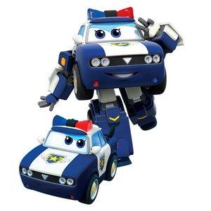 Новейший сезон Больших Супер Крыла Ким Деформация Самолет Робот действия Цифра Супер Wing Transformation игрушка