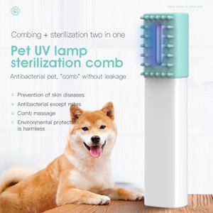 TWCH Pet UV Lamp sterilization comb combing sterilization 99.99% effective sterilization short wave UVC ultraviolet disinfection