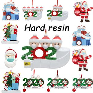 72-hour free air freight, New Year Christmas tree decoration wholesale price DIY name greetings home decoration 2020 quarantine decoration