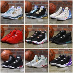 2021 Neue Ankunft Scarpe James 18 18s Basketballschuhe Sneakers Herren Melon Tönung Reflexionen Empire Jade Gang von Day Trainers Körbe Schuhe