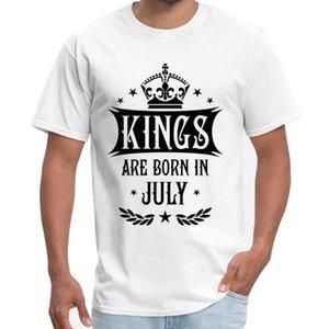 Напечатано 18 Kings Рождаются В июле король С Днем Рождения Mens Ссср Simpsons Большой размер S ~ 5xl Hiphop Top Sport Толстовка с капюшоном Толстовка Футболка