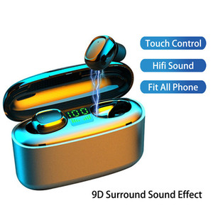 Tws G5S Bluetooth Wireless Ohrhörer Stereo Sport Ohrhörer Wasserdichte Business Headset Musik Kopfhörer für Xiaomi Huawei iPhone