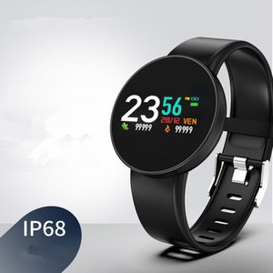 D3p Smart Watches color screen glass heart rate 68 waterproof sports watch bluetooth smart bracelet free shipping