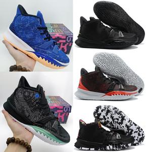 Mens Kybrid S2 PS Kyrie Hybride Quels chaussures de basketball masculins noirs Kybrid S2 EP Entraîneur baskets
