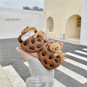 Pods Zero Profit Silicone Earphone Case Cover Soft for Air AP2 AP1 AP3 Pro Designer cover Earphone Protector Cookies Case