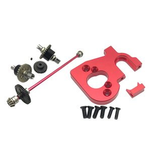 RC Auto Motor Mount Drive Shaft per WLtoys 144001 1:14 RC Buggy cingolati