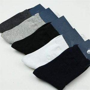 Pure Cotton Spring Socks Men Authentic Fashion Brand Men's Socks Autumn And Winter Commercial Male Socks 10 pcs=5 pairs