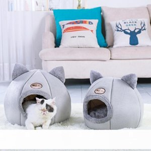 Size M L Kennel Puppy Mat Winter Dog Pet Bed Warm Pet Cat Dog Bed Cushion House For Small Medium Large Dogs Cats