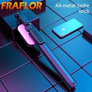 Integrato metallo portatile selfie Stick diretta Staffa Bluetooth Remote Control Autoscatto Artefatto Tripod Rod Fill Ligh