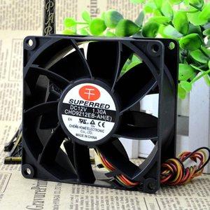 New CHD9212EB-AH 9038 9cm 90mm 12V 1.3A server supports PWM cooling fan violence 90*90*38mm