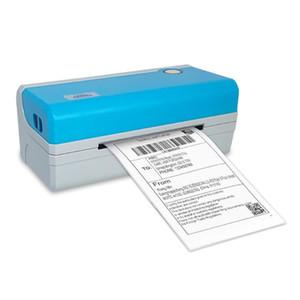 thermal barcode printer label printer bar code sticker label maker waybill destop MAC and windows 4 inch without paper holder