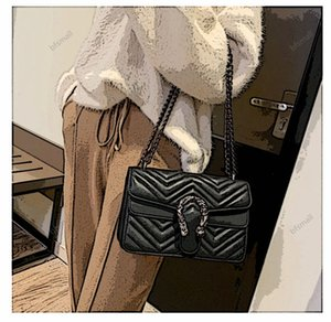 lusso Fashion Big Flap Bags Handbags Women Famous Brands progettista Crossbody Bags Women Shoulder Bags 2019 Chains Ladies Handbags