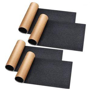 4 PCS Skateboard Grip Tape Tape Impermeabile Scooter Grip Tape Tavolo antiscivolo Skateboard Tabella 9 x 33 pollici1