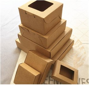 50pcs lot 21 Size Big Kraft Cardboard Packing Gift Box Handmade Soap Candy For Wedding Decorations Event Party jllOiN