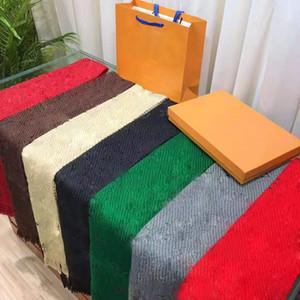 Совершенно новые дамы высокого качества шарф зимний мужской шарф роскошные пашмина теплые моды имитация шерсти кашемировой шарф 180 * 30com