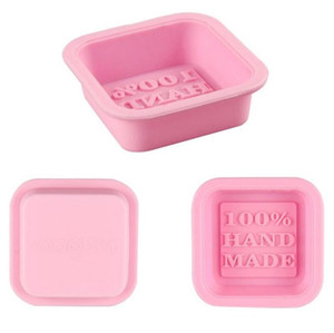 100% Handmade Soap Molds DIY Square Silicone Moulds Baking Mold Craft Art Making Tool DIY Cake Mold