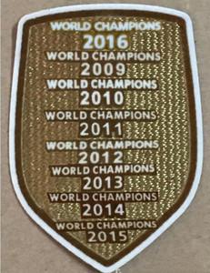 Champions 2019 2017 2017 2015 2013 2013 2012 201 201 201 200 2017 Patch Football Print Patches значки, футбол горячего тиснения