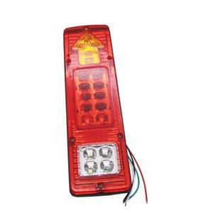 Yait 1PCS 19 Led Truck Tail Light 12V 24V Car Led Taillight Van Lamp Reversing Lights Tail Lights For Trailers Rear Light