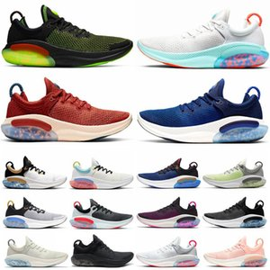 2021 JOYRIDE RUN FK MENS FEMMES chaussures de course triple noire blanche blue platinum bleu mouche tricot de sport chaussures de sport taille 36-45