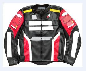 2021 Cuir à chaud Cuir hors route Jacket Veste de course moto étanche à l'étanche pour hommes