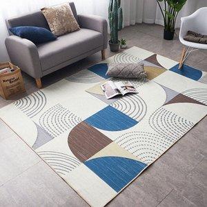 Tappeto da salotto in camera Nordic layout classico Blanket Camera Tavolino stuoia del pavimento della peluche Pad Comodino studio coperta di zona ms29 #