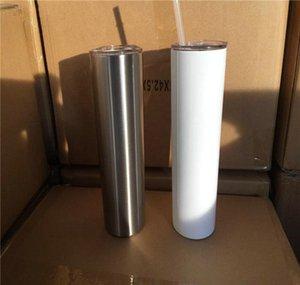 diy sublimation skinny tumbler 20oz stainless steel slim tumbler straight tumblers vacuum insulated travel mug best gift tBTzI