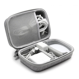 Tuuth Eva Travel Bag Cable Cable Electronics Organizer Gadget Bag Organizer حقيبة ل Macbook Air / Pro، USB، شاحن، سماعات Y200714