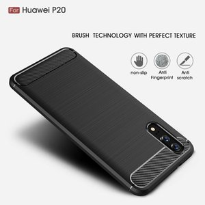 Wholesales Carbon Fiber Cover 360 Full Protection Phone Case For Huawei Honor Mate 20 X 30 P20 P30 P40 Plus Pro Lite Shockproof Cover Case