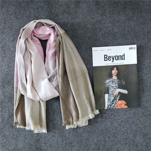 The 2020 new scarf is very small and fresh in autumn and winter. The trendy and fashionable shawl is dual-use. High-quality material soft-fi