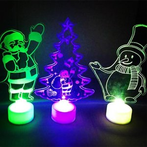 Merry Led Color Changing Mini Christmas Xmas Tree Home Table Party Decor Charm Perfect Present