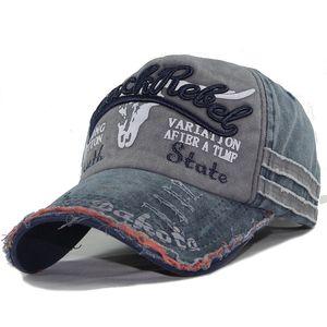 Explosive Old Niutou Designer Baseball Cap Washed Hat Frayed Visor Cap Mens Designer Fashion Cap