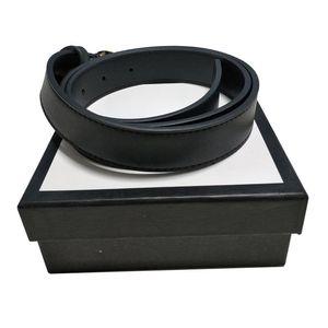Fashion Designer di lusso Belt Belt Donne Belt Big Gold Fibbia Golden Cintura in vera pelle Cinture classiche Ceinture Larghezza 2,0 3.0 3.4 3.8 con scatola