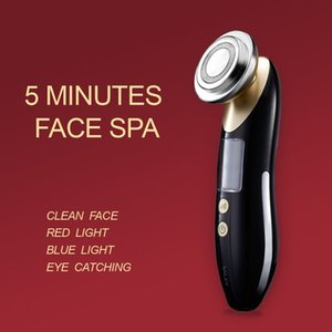 Beauty massage facial photon device makes skin younger and cleaner, importers' home micro current heating