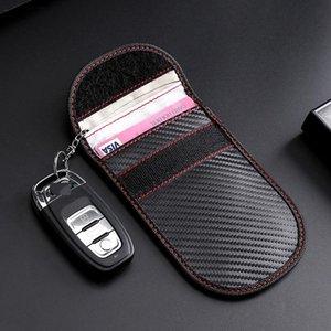 Genuine Leather Keychain holder Organizer Wallet Car Automobie Key Pouch Men Women Housekeeper Keys Bag