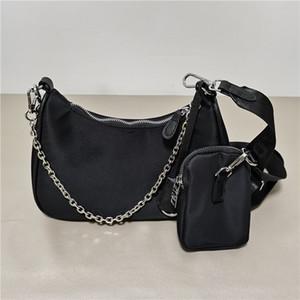 Kadınlar için handbags'in tuval kadın omuz çantası Göğüs paketi bayan Bez zincirleri çanta çanta postacı çantası 2005 Toptan tuval hobo