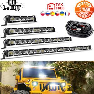 CO LIGHT Led work Light bar 32'' 18000LM Combo Beam Offroad LED Bar 4x4 Car for Trucks UAZ Niva Trailer 12V 24V