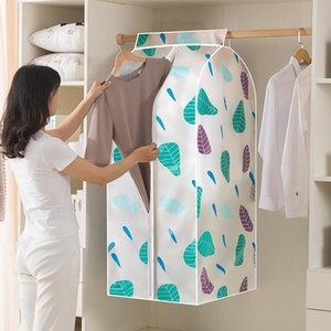 Dimensional Dust-proof Clothing Covers Waterproof Mildew Proofing Wardrobe Organization Clothes Storage Bags