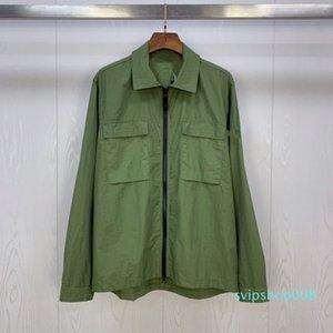 Topstoney 2020 Konng Gonng Spring e Autumn New Fashion Brand Shirt Cappotto moda uomo per uomo