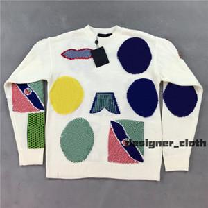 Nuevo 2020 hombres diseñadores de diseño suéter letras jersey hombres con capucha manga larga camiseta activa bordado prendas de punto ropa de invierno 20ss
