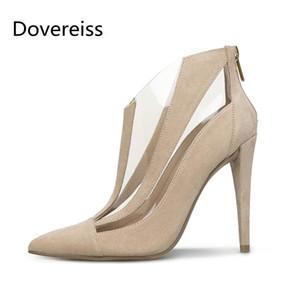 Dovereiss Fashion Femme's Shoes Sumée Toe Neuf Bottines Cool Bottines Concises Sexy Bottines Concises 32-50