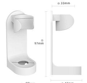 ABS Traceless Standı Raf Diş Fırçası Organizatör Elektrikli Duvara Monte Tutucu Banyo Organize Bbyzak Hotclipper